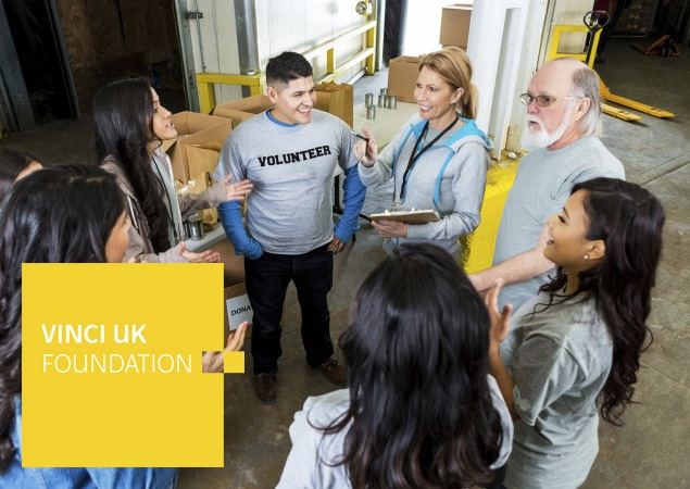 Insights - £190k funding for local Charities in battle against Social Exclusion with VINCI Foundation