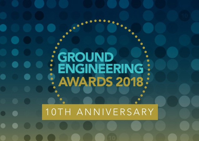 Insights - Double Success for Bachy Soletanche at the Ground Engineering Awards - GE Awards 2018 Logo