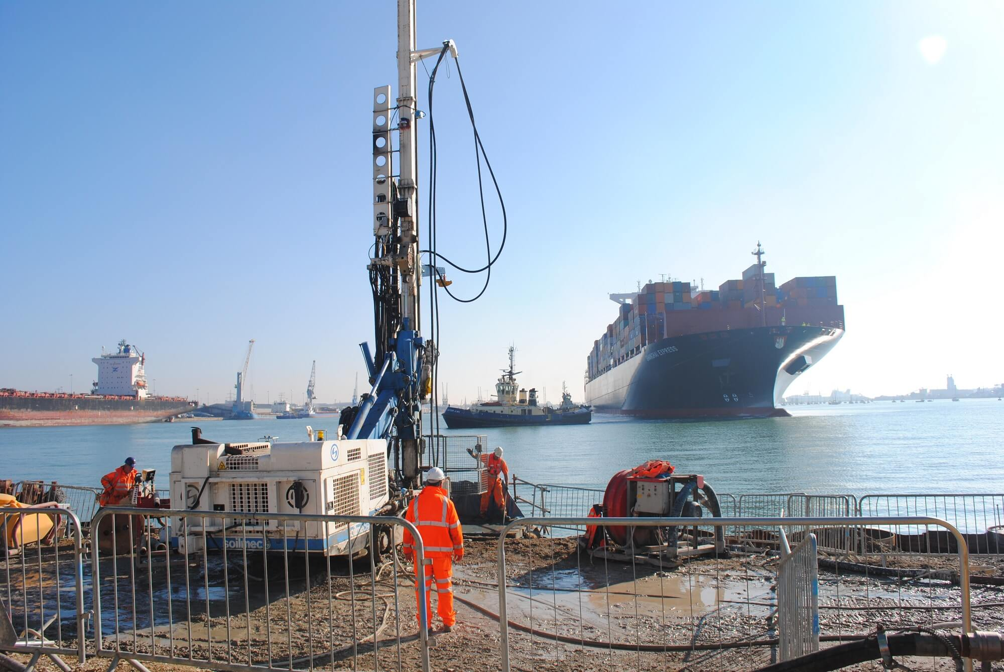 Grouting Solution - Jet Grouting - Port Works (9)