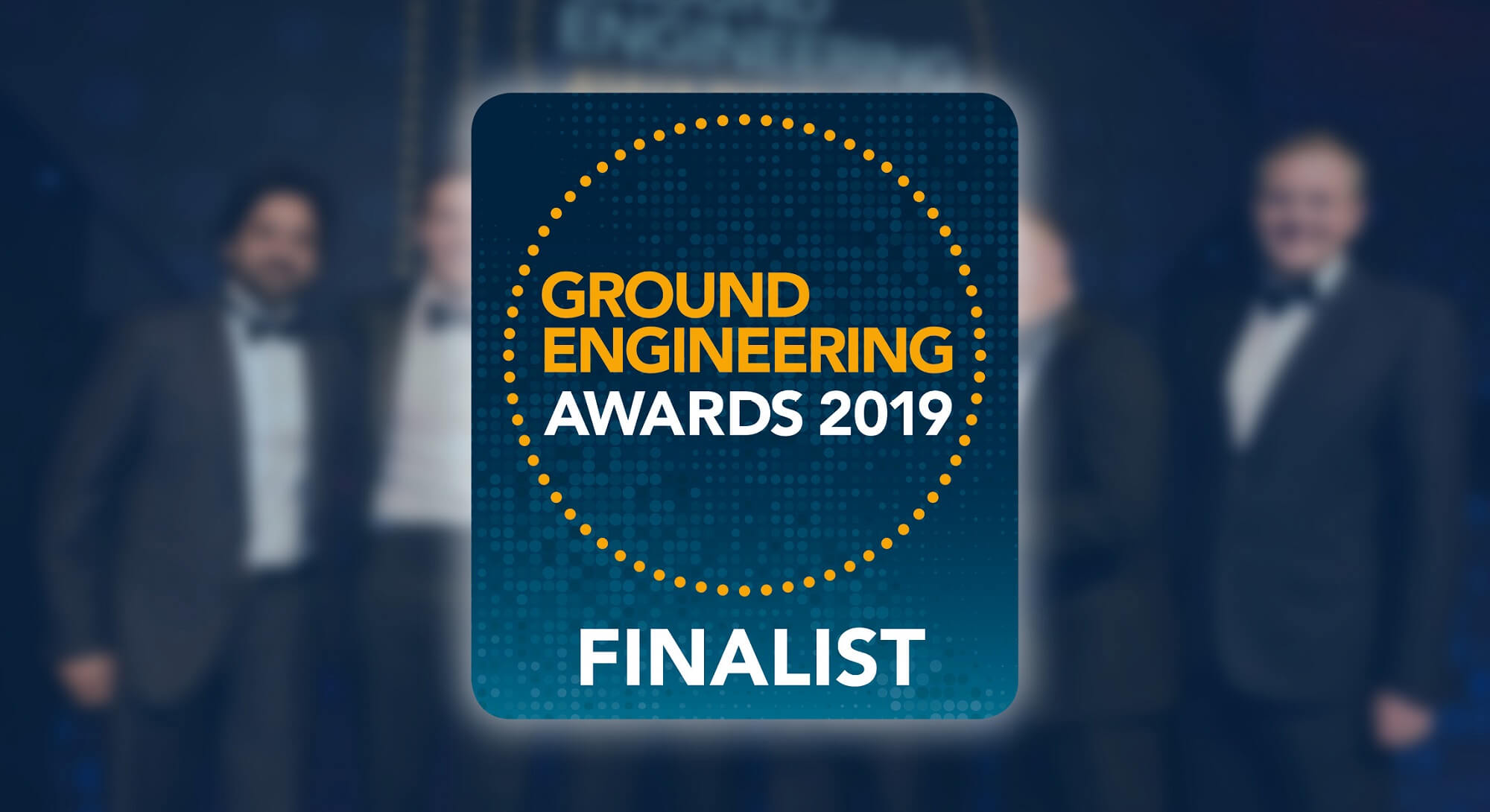 Insights - Bachy Soletanche shortlisted for Ground Engineering Awards - GE Awards Hero Photo