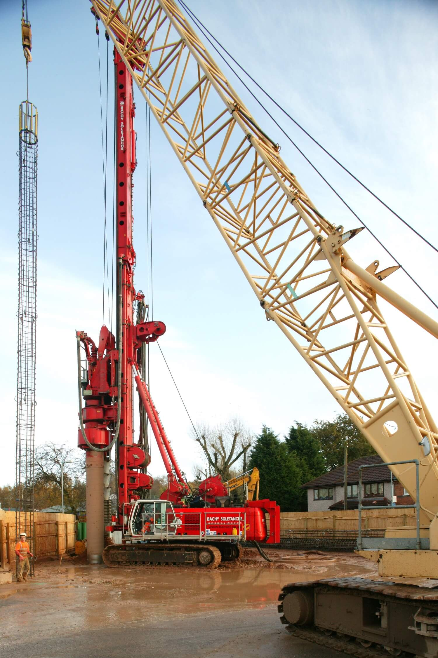Foundations Solution - Cased Secant Piling CSP - Foxton Road (3)