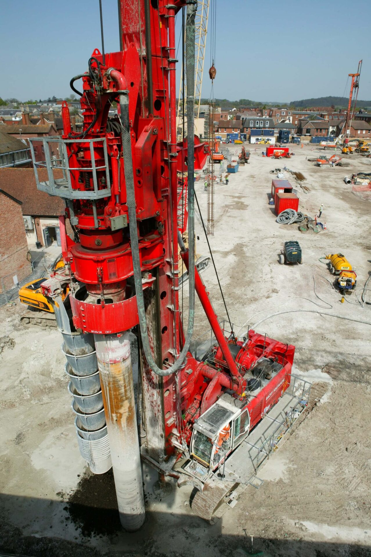 Foundations Solution - Cased Secant Piling - Cased CFA (2)