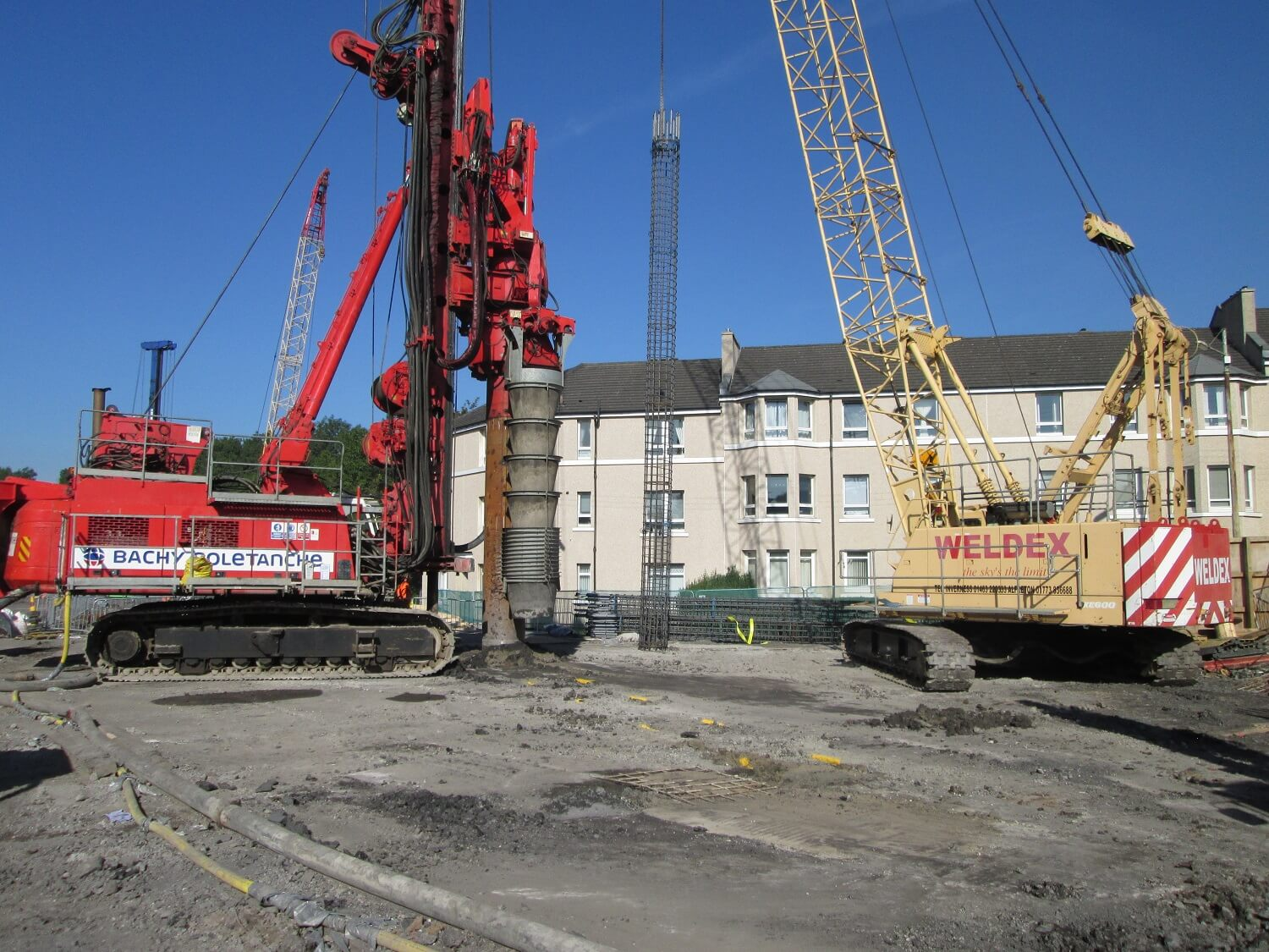 Foundations Solution - Cased Secant Piling - Cased CFA (6)