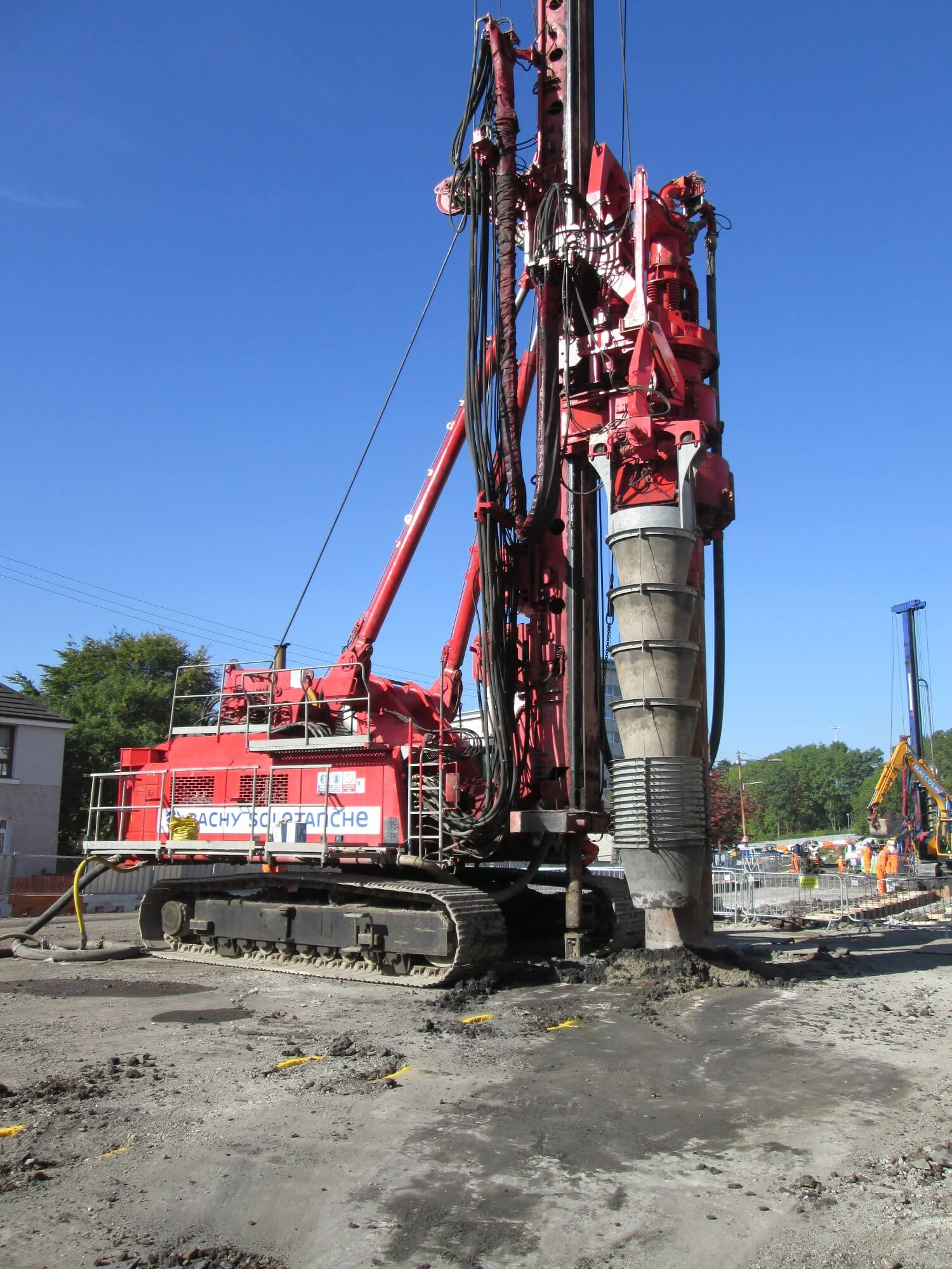 Foundations Solution - Cased Secant Piling - Cased CFA (7)