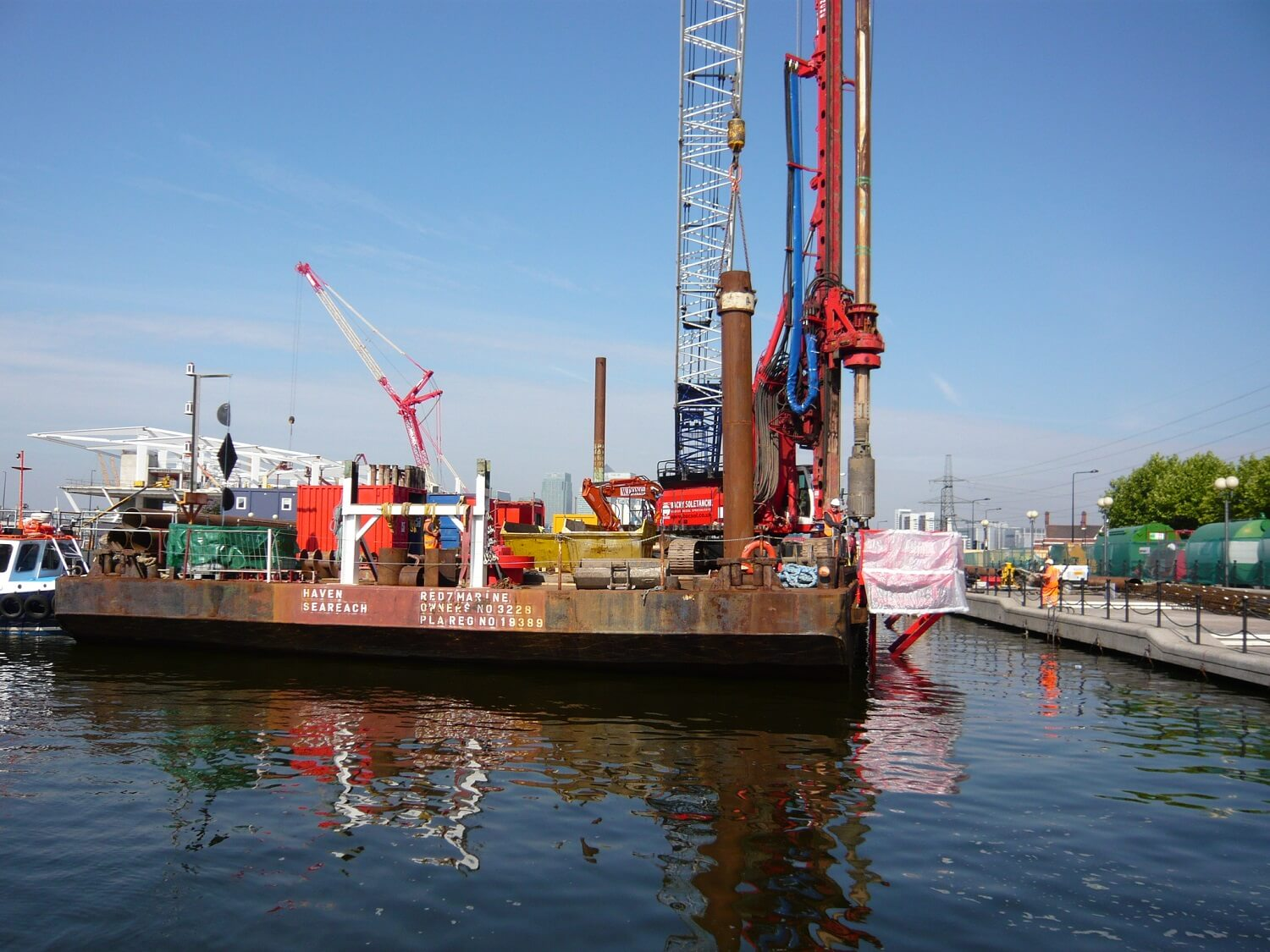 Foundations Solution - Emirates Air Cable Car - Marine LDA Piling (3)