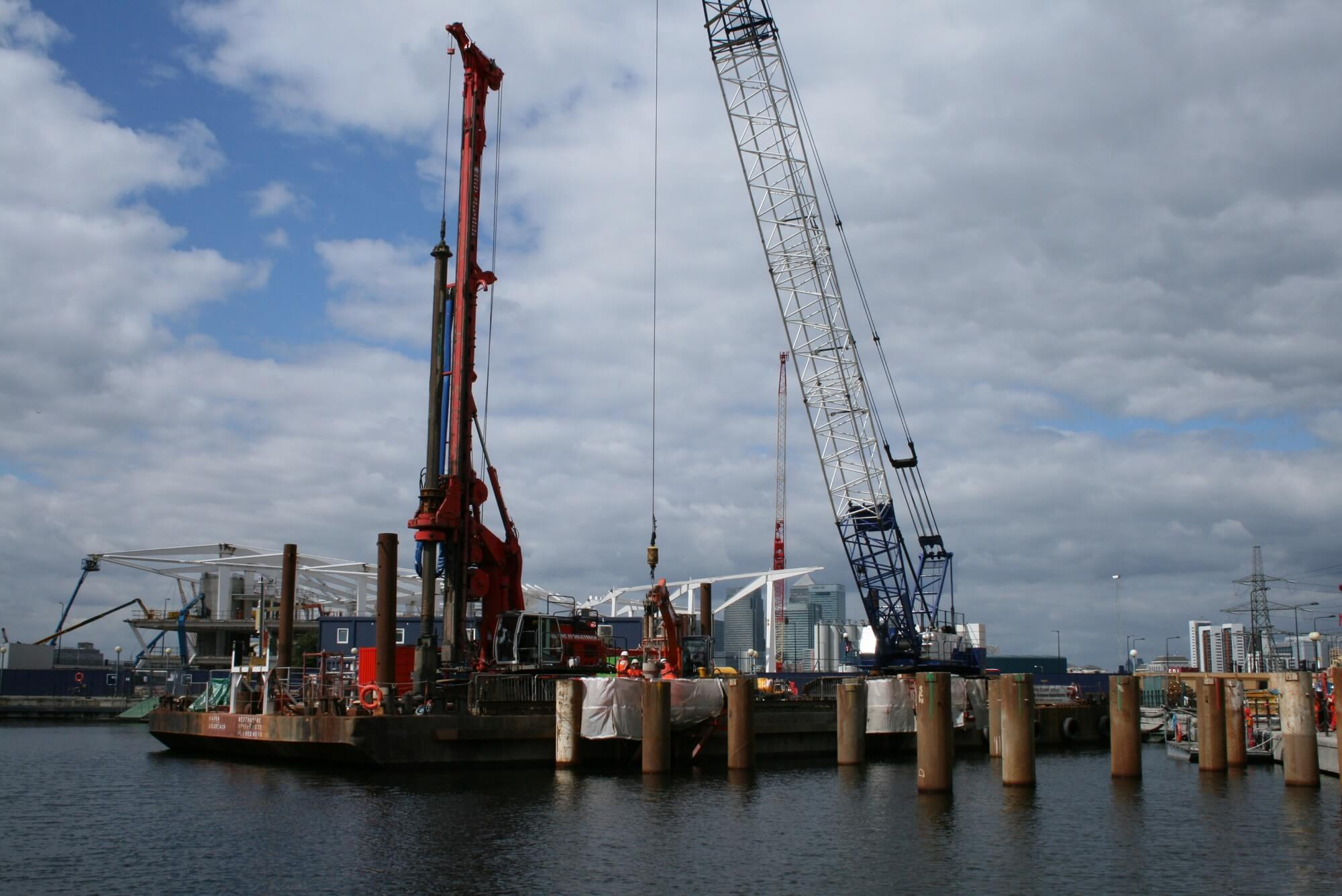 Foundations Solution - Emirates Air Cable Car - Marine LDA Piling (7)