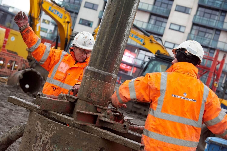 Foundations Solution - Radisson Red Hotel Glasgow - Large DIameter Auger LDA Piling (1) (1)