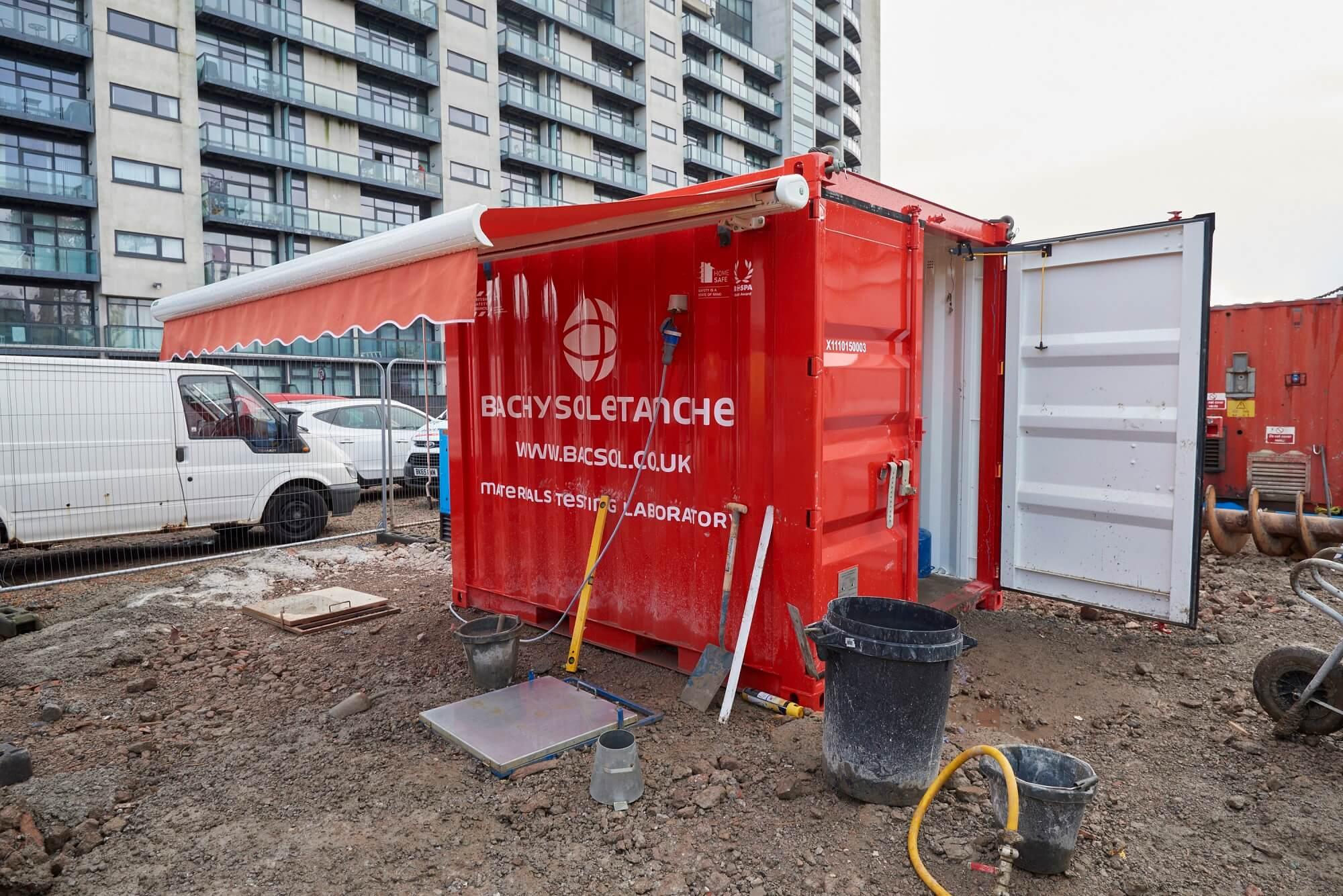 Foundations Solution - Radisson Red Hotel Glasgow - Large DIameter Auger LDA Piling (4)