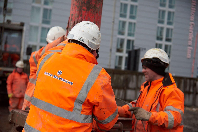 Foundations Solution - Radisson Red Hotel Glasgow - Large DIameter Auger LDA Piling (7)