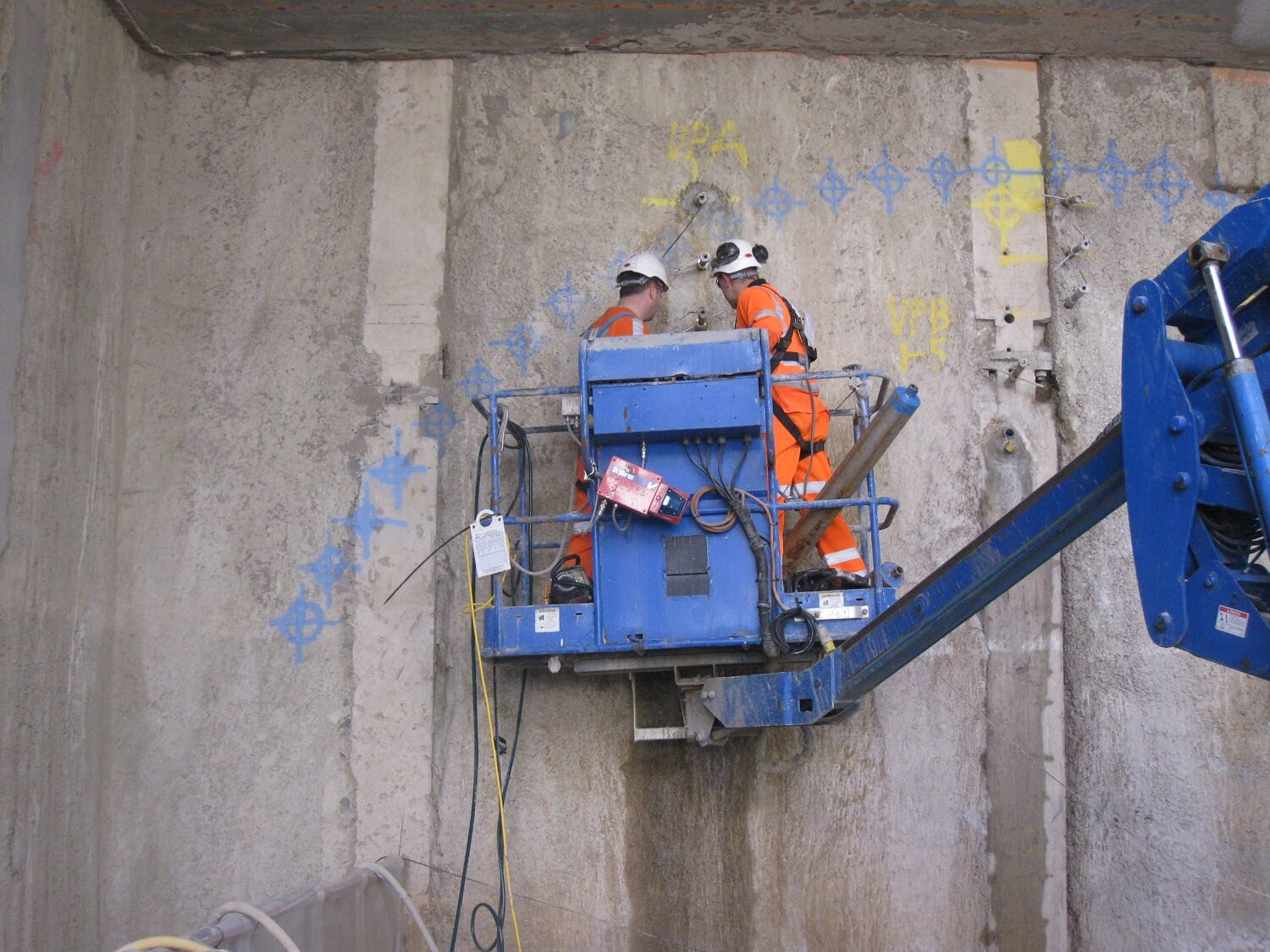 Grouting Solution - Compensation Grouting - Crossrail Project (6)