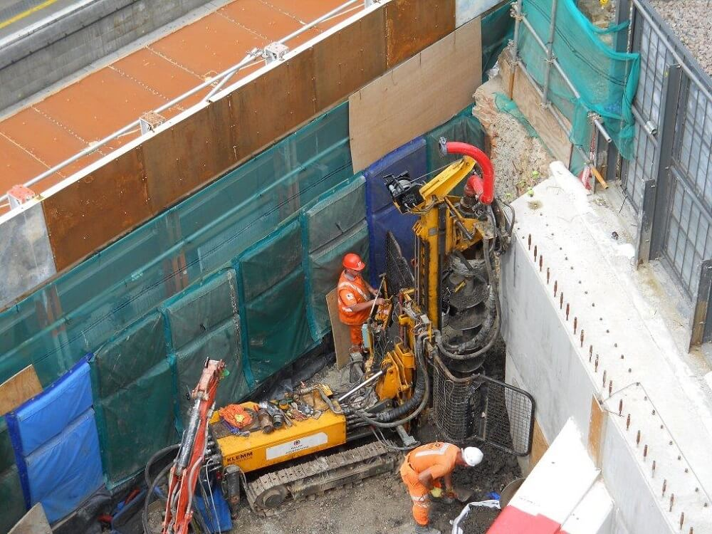 Foundations Solution - Restricted Access Piling (5)