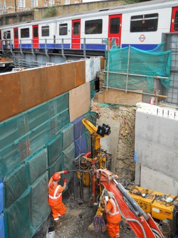 Foundations Solution - Restricted Access Piling (6)
