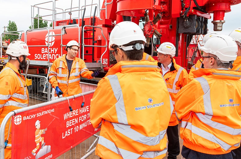 People - Plant Department & Fabrication Yard - Rig Exclusion Zone Training