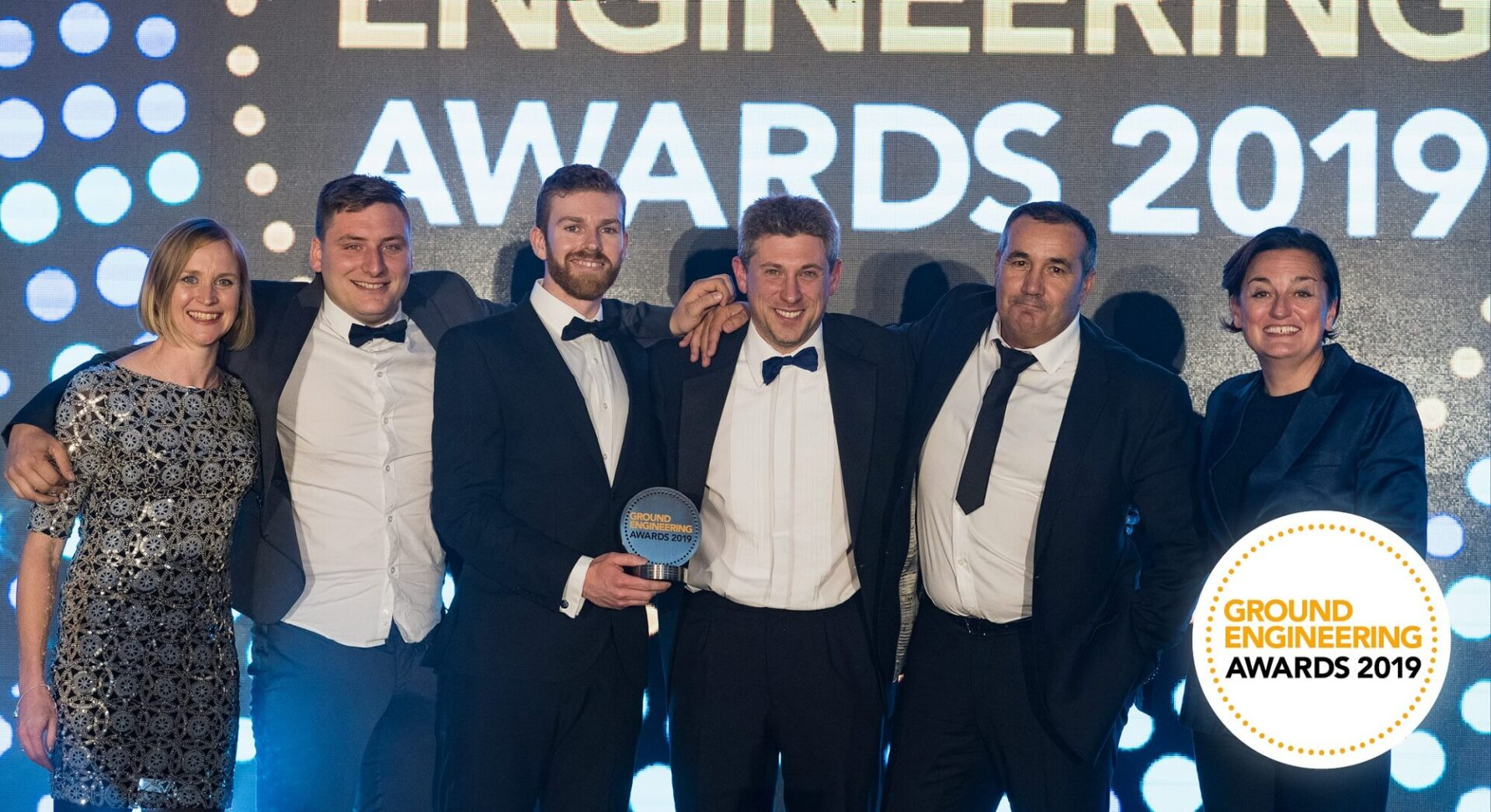 Insights - Thames Tideway Tunnel Team Wins Coveted Ground Engineering Award - Tideway Collecting Award (2)