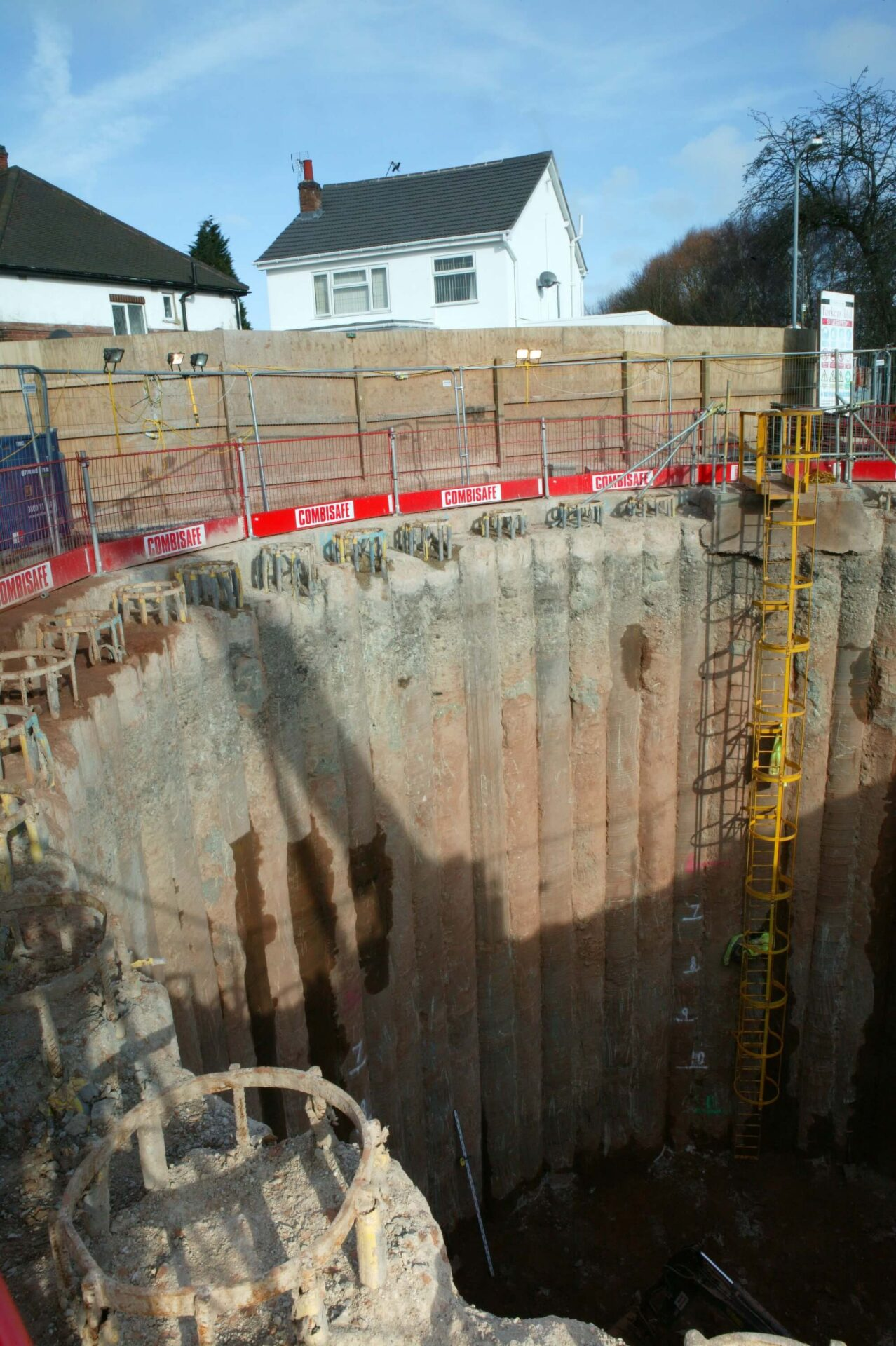 Foundations Solution - Cased Secant Piling CSP - Foxton Road (2)