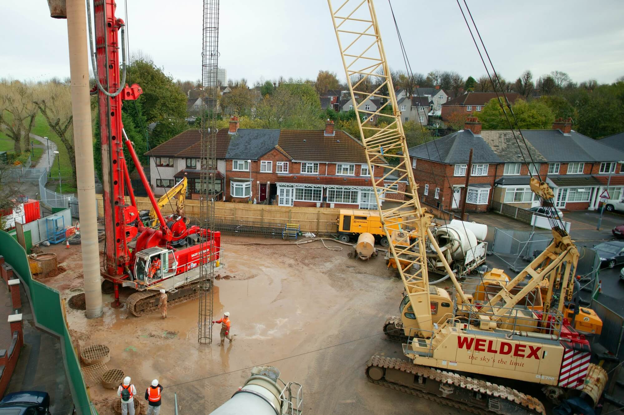 Foundations Solution - Cased Secant Piling CSP - Foxton Road (6)