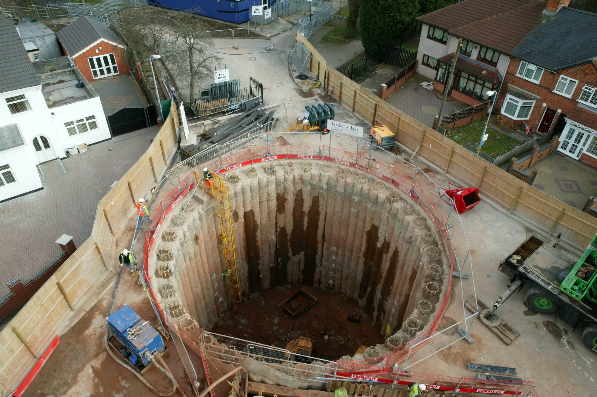 Foundations Solution - Cased Secant Piling CSP - Foxton Road (7)