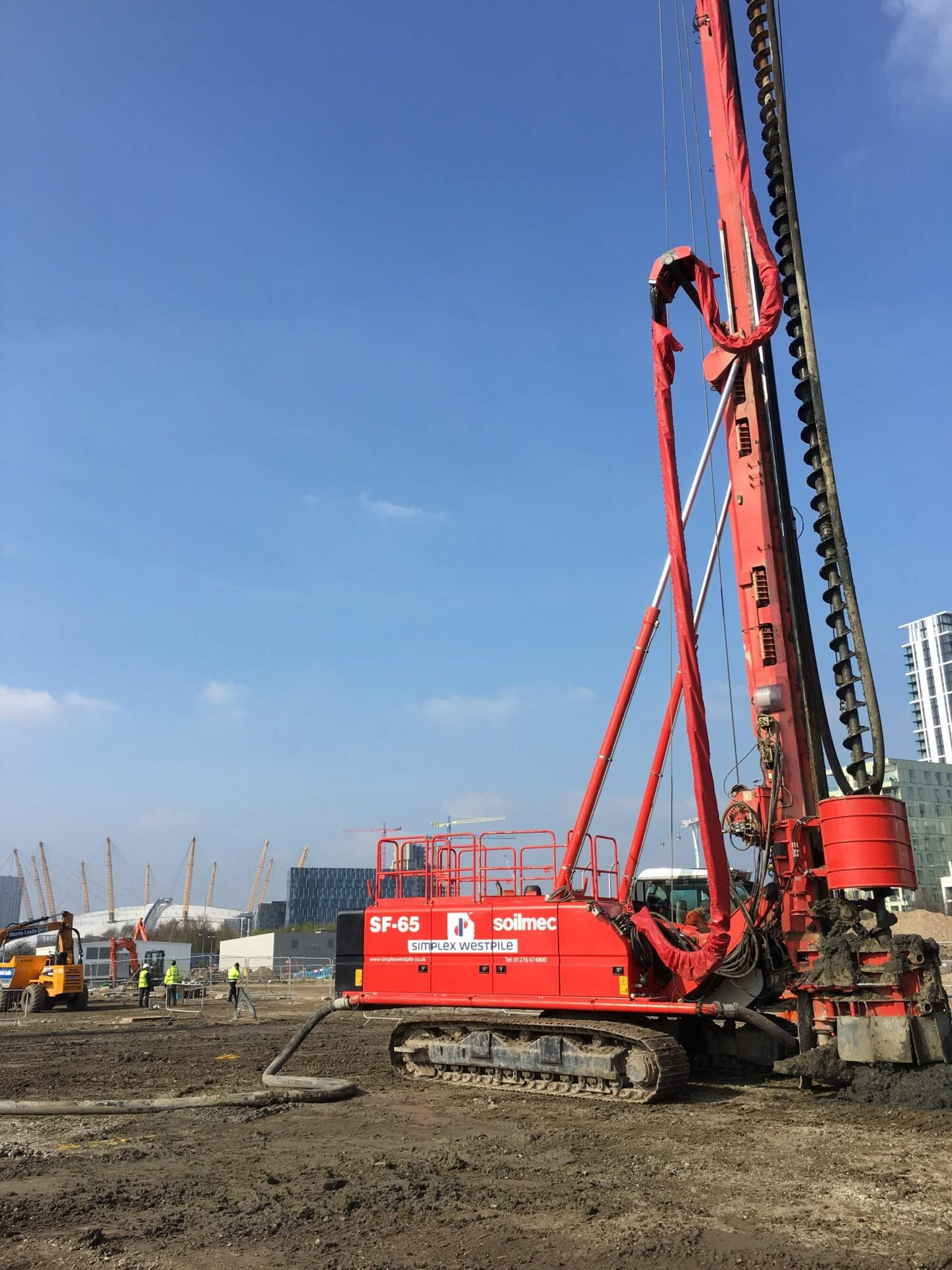 Foundations Solution - Continuous Flight Auger CFA Piling - St Mary Magdalene School Project (4)
