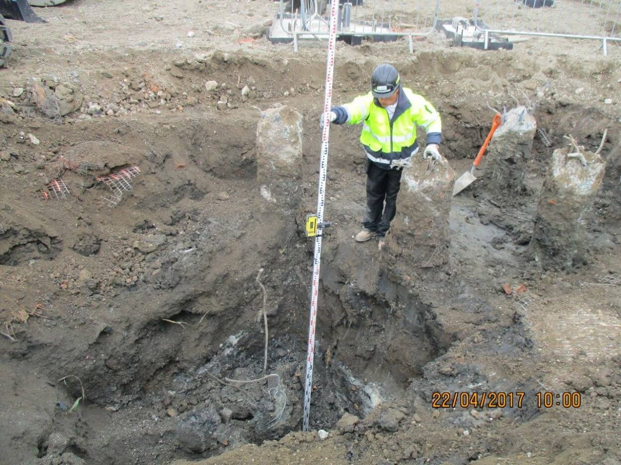 Foundations Solution - Continuous Flight Auger CFA Piling - St Mary Magdalene School Project (6)