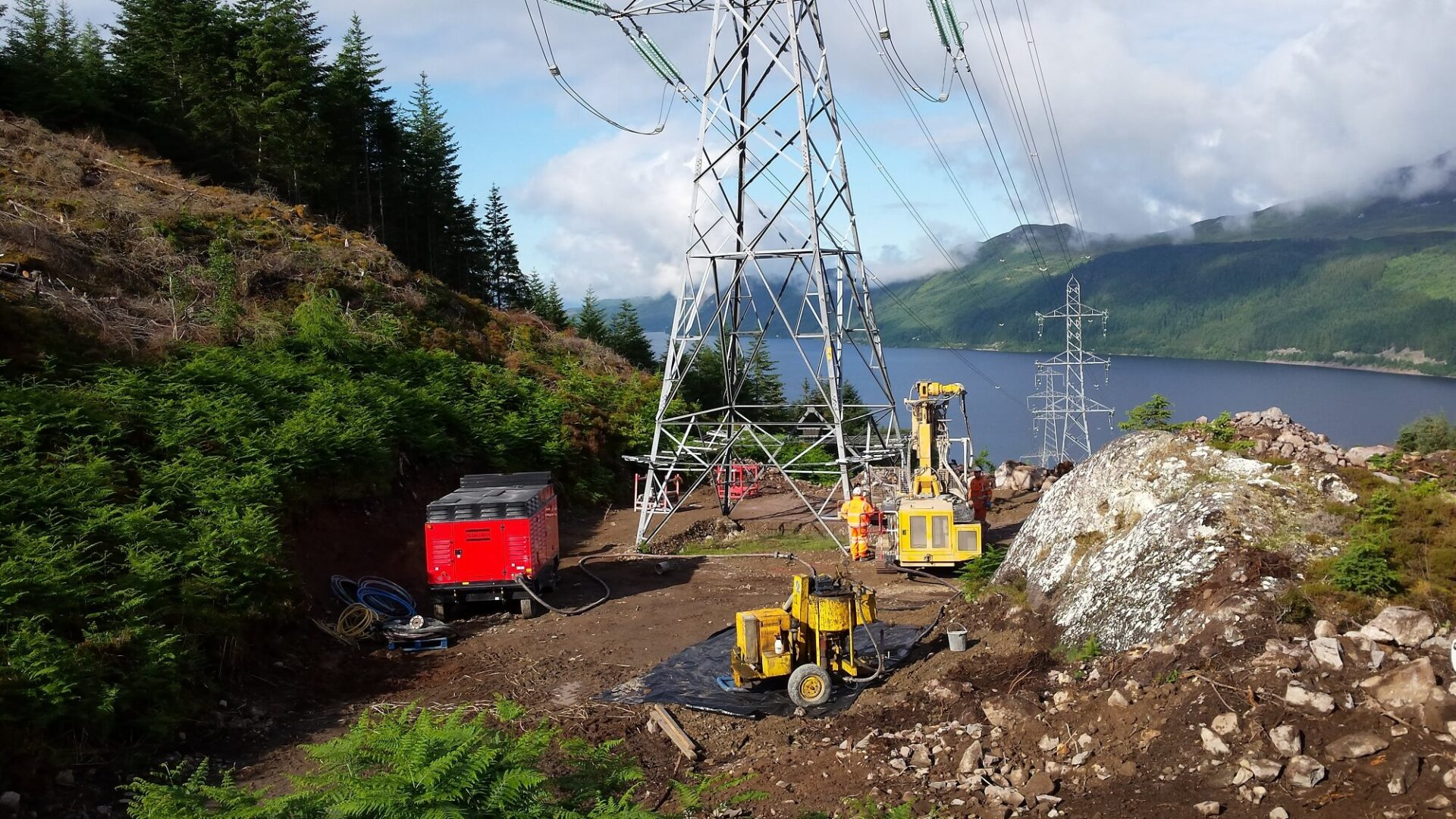 Foundations Solution - Restricted Access Piling - Foyers To Knocknagael
