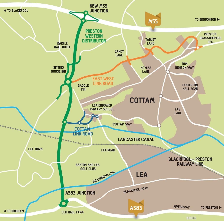 Insights - Bachy Soletanche to Deliver Foundations for the Preston Western Distributor Road - Preston Road Map