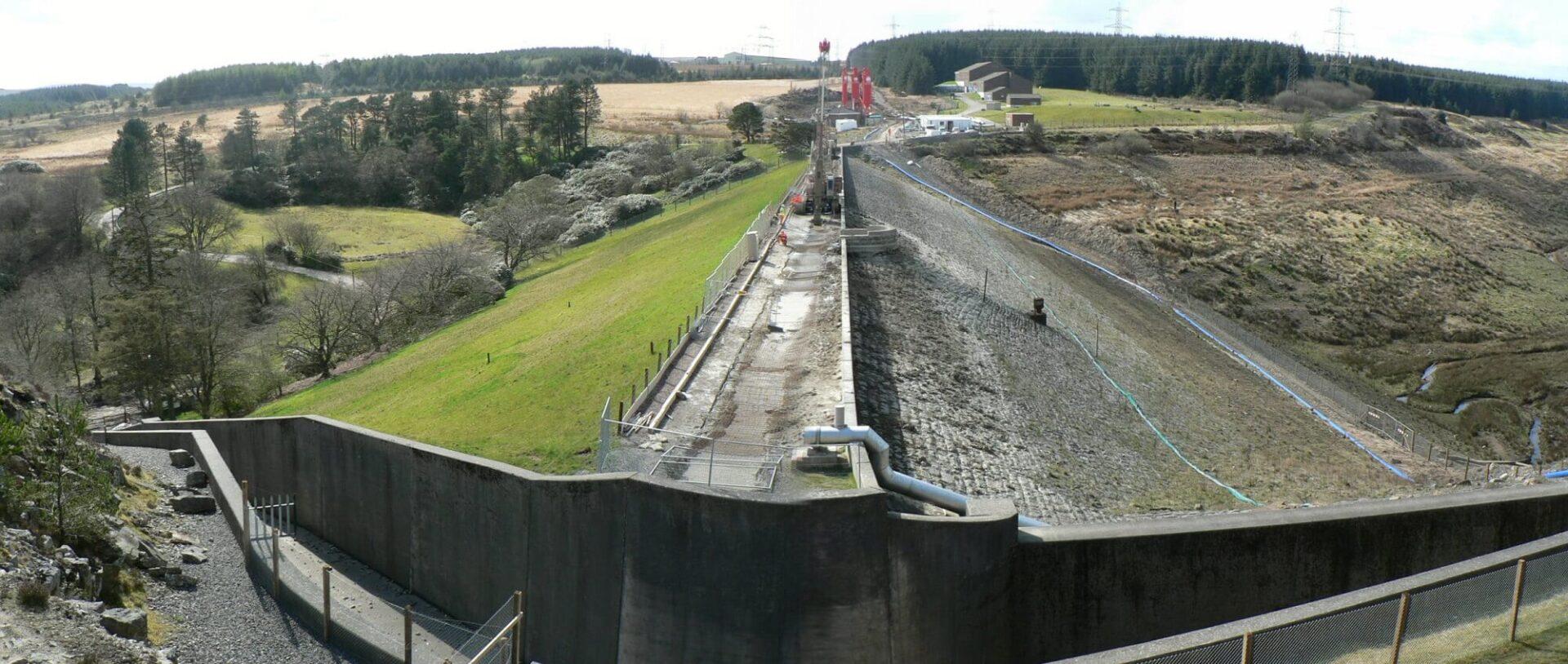 Environmental Solution - Lower Carno Dam Stabilisation - Slurry Cut Off Wall (1)