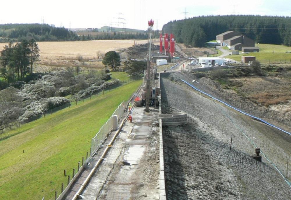 Environmental Solution - Lower Carno Dam Stabilisation - Slurry Cut Off Wall (3)