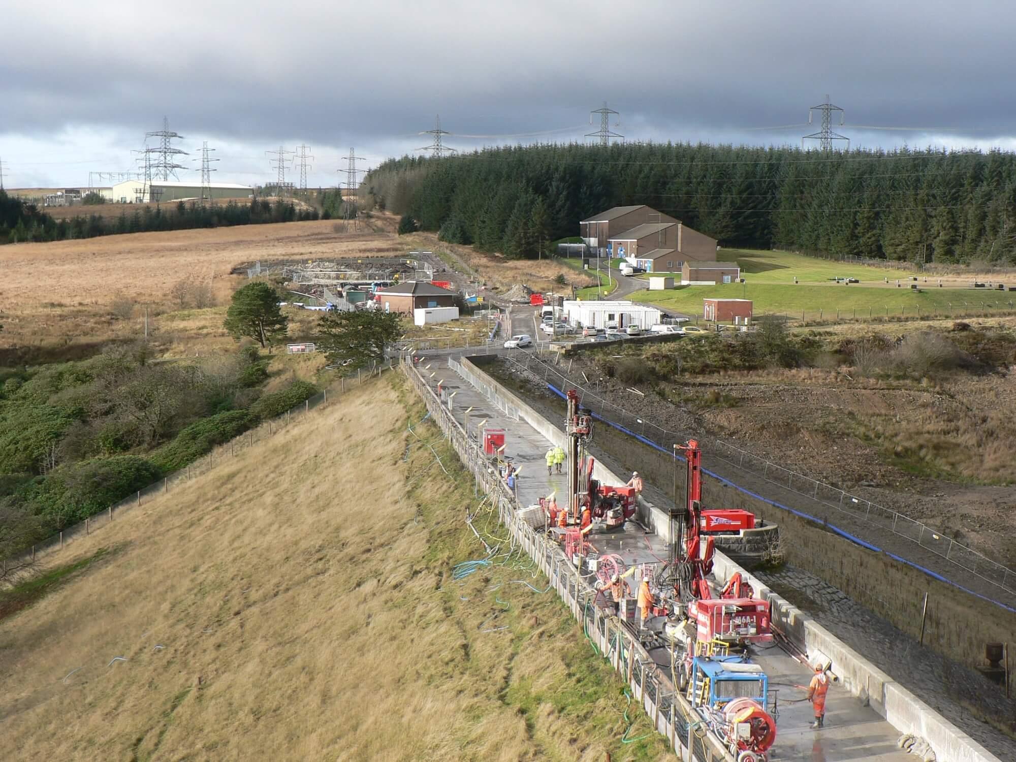 Environmental Solution - Lower Carno Dam Stabilisation - Slurry Cut Off Wall (4)