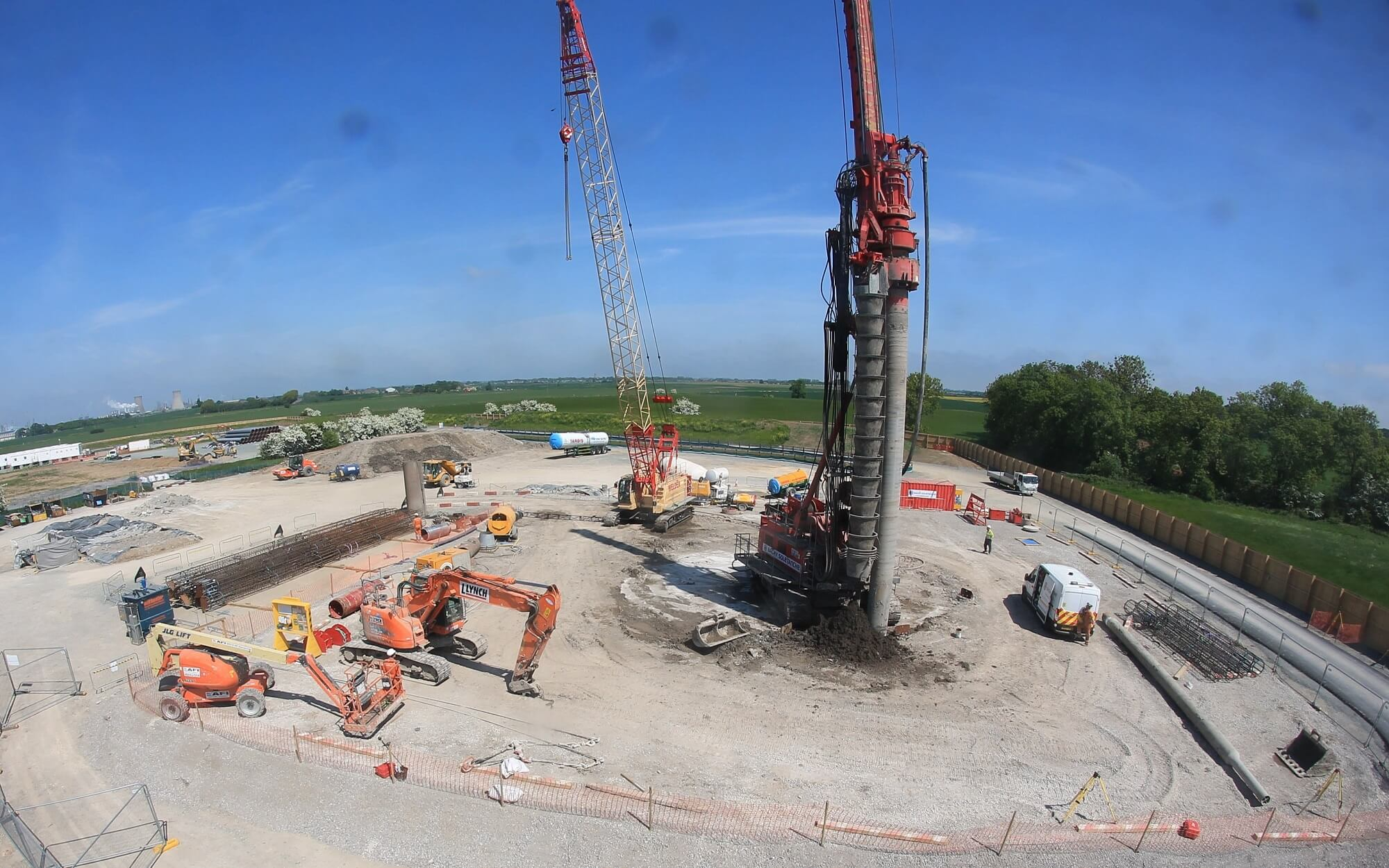 Foundations Retaining Wall Solution - Cased CFA LDA Piling - Feeder 9 Gaspipe Replacement Paull (5)