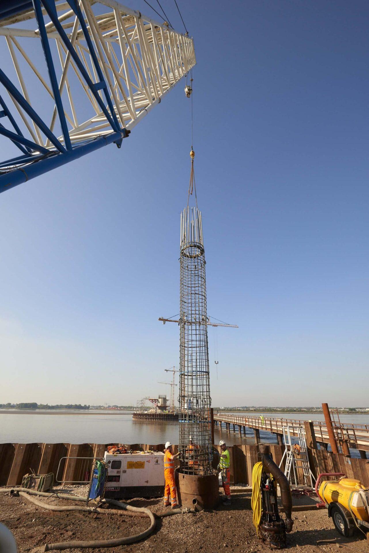 Foundations Retaining Wall Solution - Mersey Gateway Bridge - CFA LDA Secant Wall (5)
