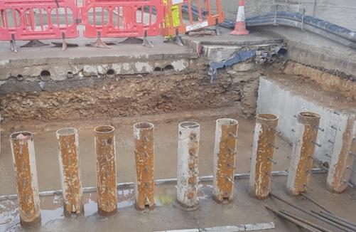 Foundations Solution - Restricted Access Mini Piling - Linton Bridge Stabilisation Project (3)