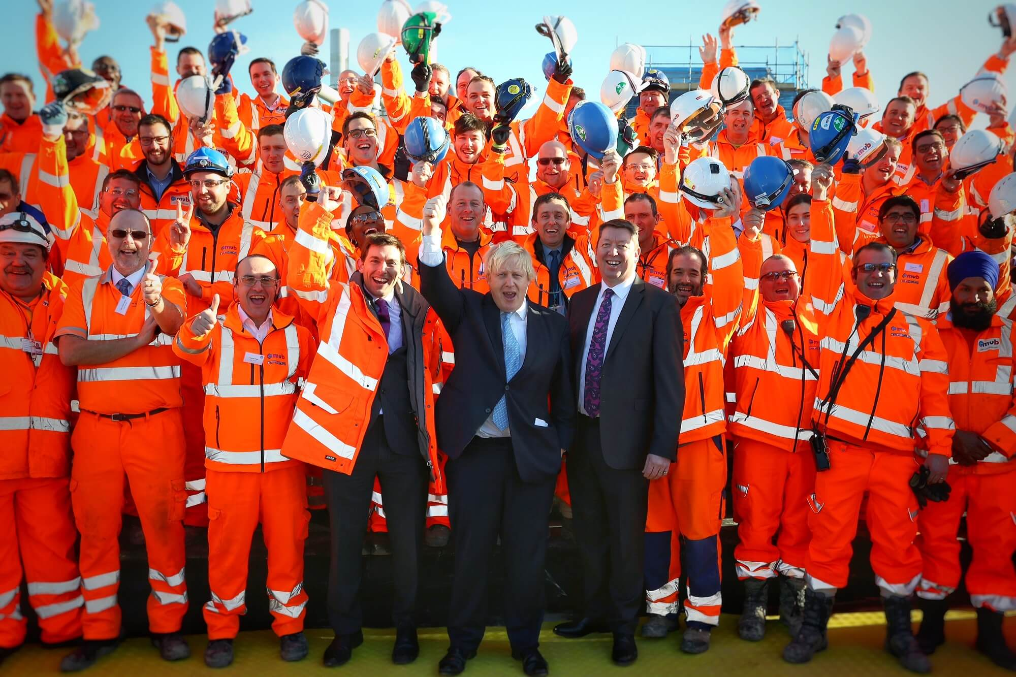 Insights - Insider Update with Sivilay Sayavong - Boris Johnsons visit to Lee Tunnel Project Team Photo