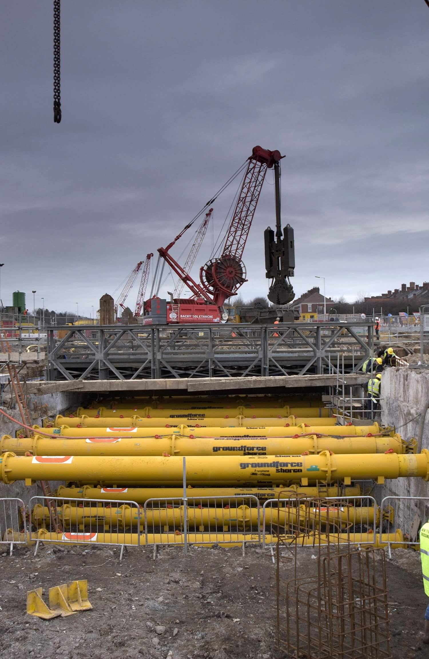 Retaining Wall Solution - New Tyne Tunnel Project - Diaphragm Wall Secant Wall Contiguous Wall CFA (6)