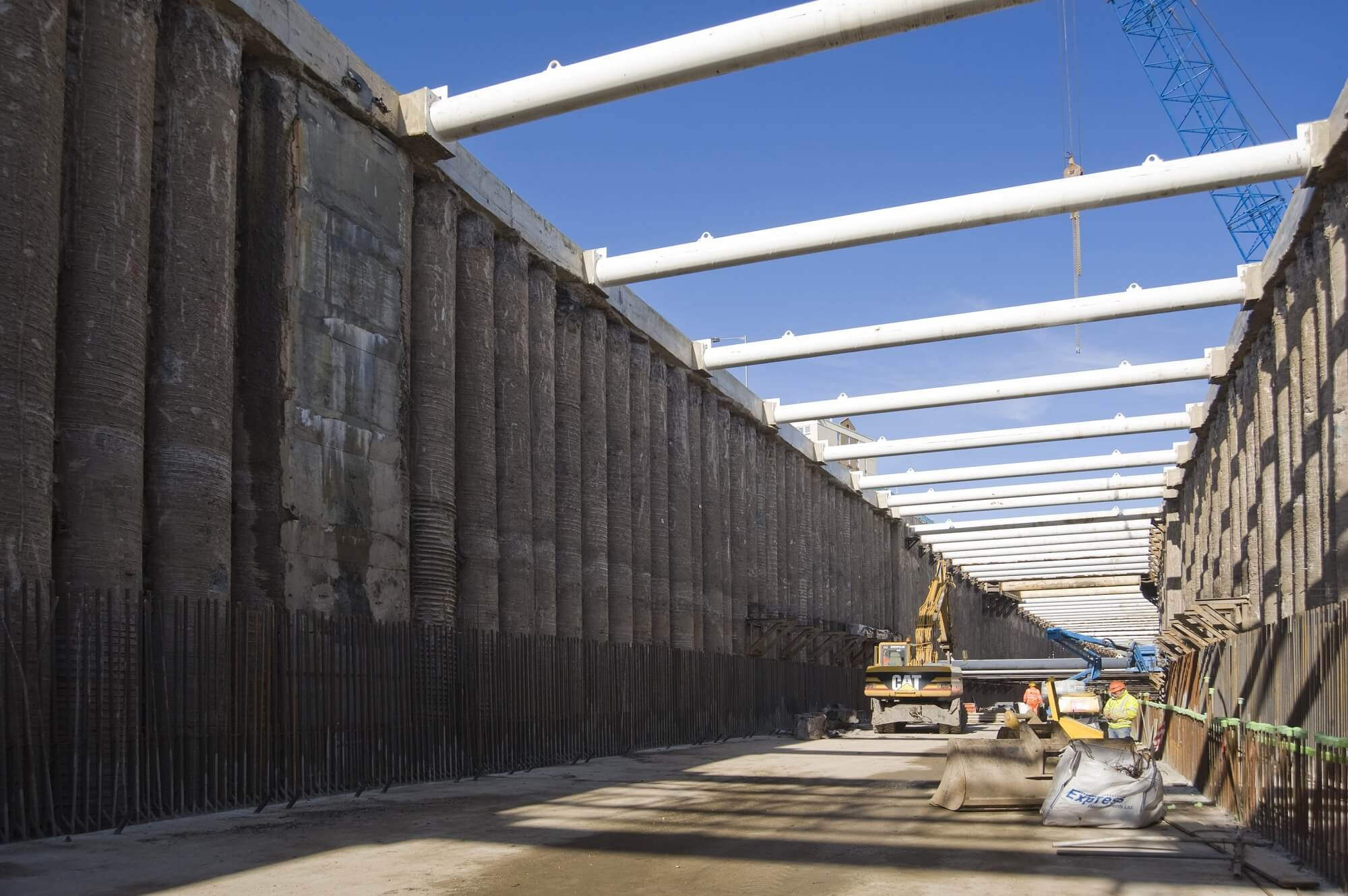Retaining Wall Solution - New Tyne Tunnel Project - Diaphragm Wall Secant Wall Contiguous Wall CFA (7)