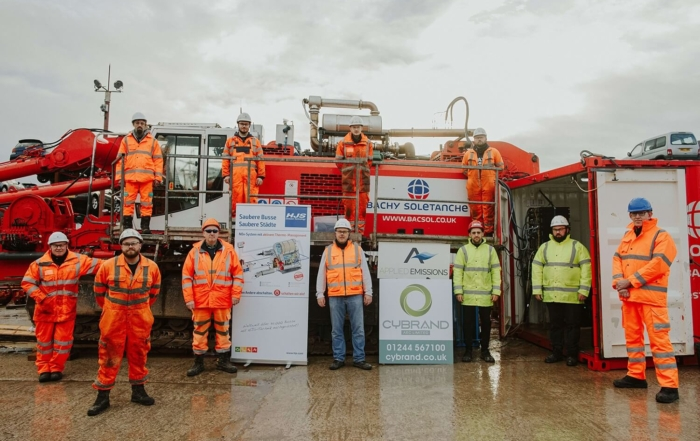 Insights - Bachy Soletanche Reduce Environmental Impact of Piling Rigs - Team photo (1)