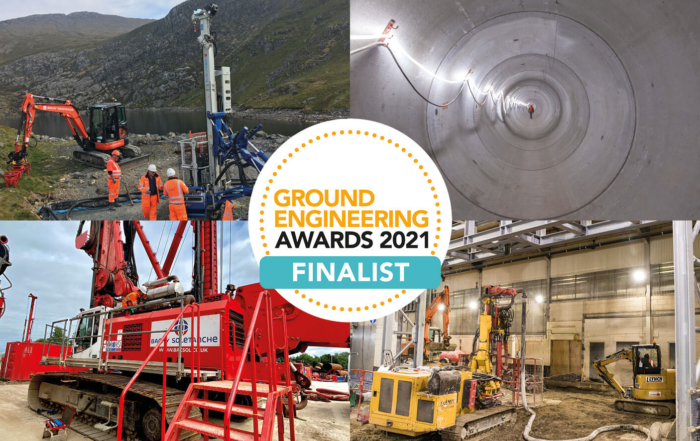 Bachy Soletanche Shortlisted for six Ground Engineering 2021 Awards